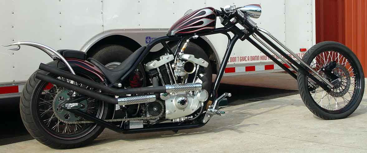 Redneck Eng - Mutant Buell Chassis Kits - Mutant Getting High